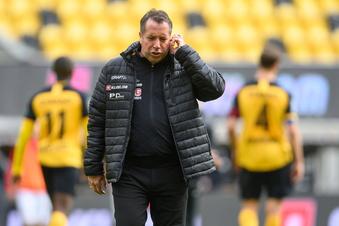 Nach Dynamos 0:3: Nun wird es eng für den Trainer