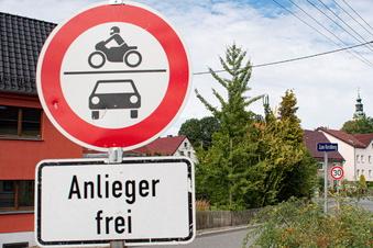 Großröhrsdorf: Umleitungsverkehr sorgt für Ärger