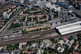 Hier entsteht Dresdens neues Fernbus-Terminal