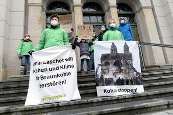 Protest gegen weiteren Braunkohleabbau