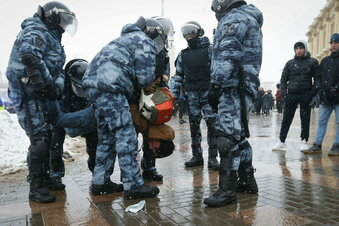 4.000 Festnahmen bei Nawalny-Protesten