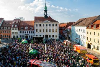 Radeberg krempelt den Marktplatz um