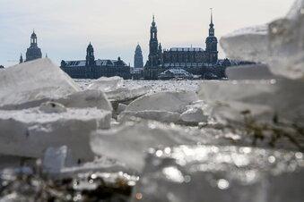 Wetteränderung: Schnee ade in Dresden