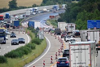 Warum es so viele Staus auf Sachsens Autobahnen gibt