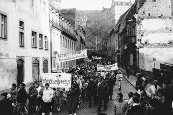 Pirna sucht Wende-Geschichten