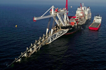 Russland will Nord Stream 2 fertigstellen