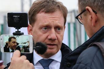Ministerpräsident Kretschmer fordert Mut zur Zivilcourage