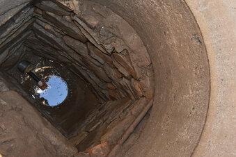 Zwei Brunnendörfer vor dem Baubeginn