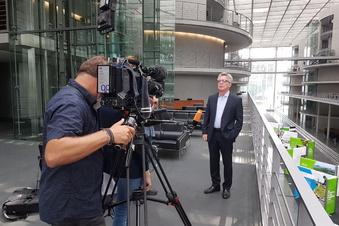 Thomas de Maizière das letzte Mal im Bundestag