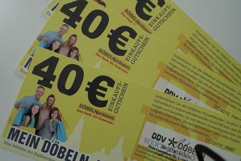 Döbeln: Gutscheine für fast 100.000 Euro