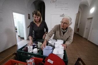 Mit dem Wochenendeinkauf der Suppenküche helfen