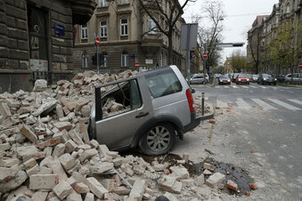 Erdbeben erschüttert Zagreb