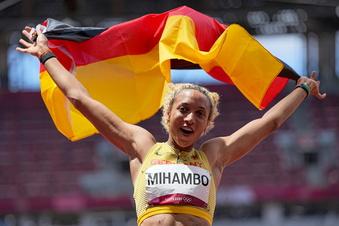 Olympia: Mihambo springt zur Goldmedaille