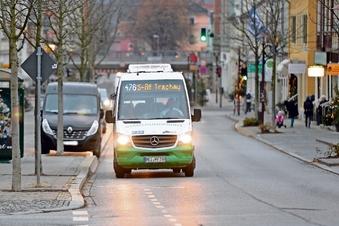 Die neue Bus-Route getestet