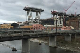 Wie Genua die eingestürzte Brücke wieder aufbaut