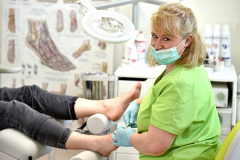 Dürfen Fußpfleger arbeiten oder nicht?