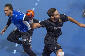 Dresdner Handballer siegen bei Spitzenklub