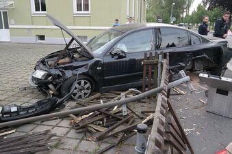 Unfall auf Zittauer Kreuzung