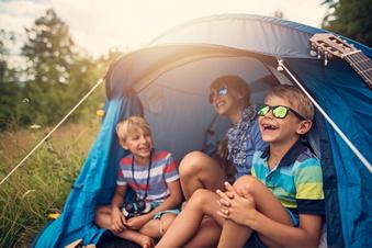 Ferienlagerplätze für Dresdner Kinder