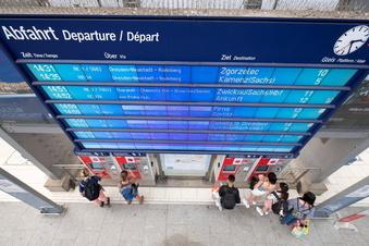Vor der Reise: Impfen vorm Hauptbahnhof Dresden