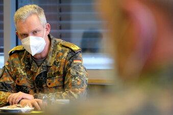 So hilft die Bundeswehr im Elblandklinikum