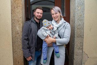 Jugendwehr hilft Baby John