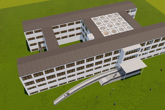 Typ-Dresden-Schule soll Glasdach erhalten