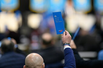 AfD plant Bundesparteitag in Dresden