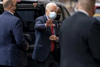 Biden gibt frühzeitig seine Stimme ab
