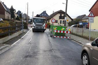 Vollsperrung in Lichtenberg