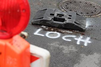 Riesa: Kanaleinbruch mit Folgen