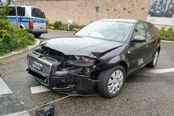 Waldheim: Vorfahrtsfehler führt zu Unfall