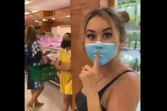 Fake-Maske: Russin aus Bali abgeschoben