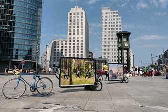 Besucht Dresden! Stadt wirbt auf Rädern für Dresden-Trips