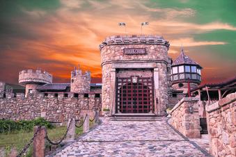 Eine Burg, die genauso aussieht wie im Mittelalter?