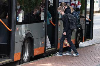 Klappt das mit den Masken in Radeberger Bussen?