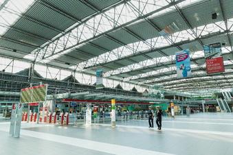 Läden leer: Wie geht es am Dresdner Airport weiter?