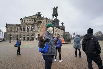 Demo gegen Dresdens Asylpolitik
