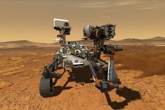 Neuer Rover sucht Leben auf dem Mars