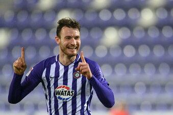 Ex-Dynamo Ballas schießt Aue zum Sieg