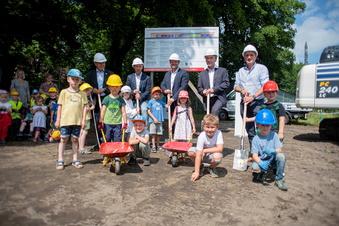 Baustart für neue Kita in Großröhrsdorf