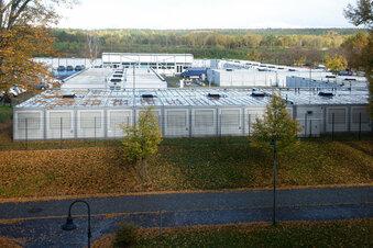 Reserve-Flüchtlingsheim in Dresden geht in Betrieb