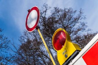 Bischofswerda: Straße in Weickersdorf voll gesperrt