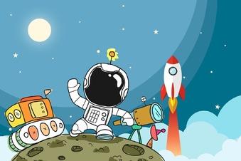 Wollen Kinder immer noch Kosmonaut werden?