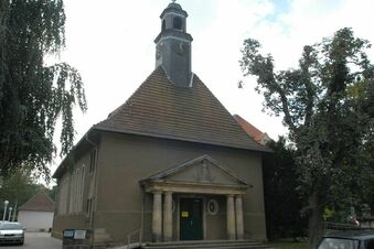 Klettern in der Kirche