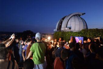 Rekord-Mondschau in der Sternwarte Radebeul