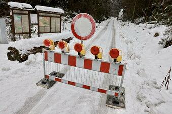 Sächsische Schweiz: Großer Zschand gesperrt