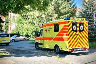 Pirnas Feuerwehr rettet Baby