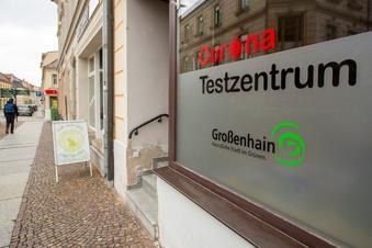 Testzentrum in Großenhain öffnet wieder