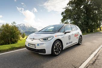 Infineon ist Station einer E-Auto-Tour